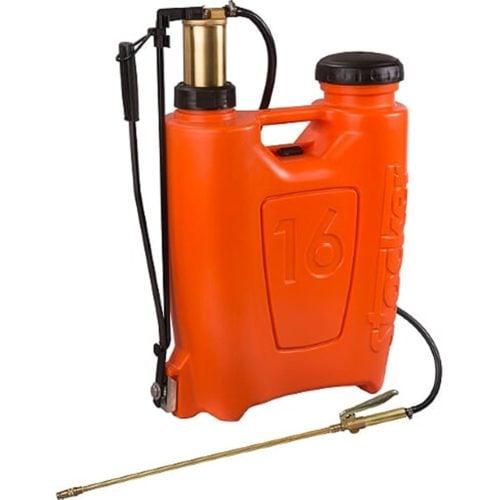 Pompa manuala de presiune, tip rucsac 16 litri, cu piston si lance din bronz (ST240