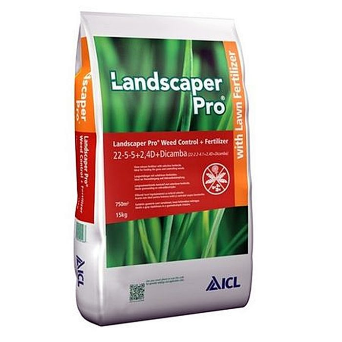 Landscaper Pro Weed Control 22+05+05+2,4D+Dicamba