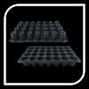 Tava alveolara cu 28 celule rotunde 8x6.5